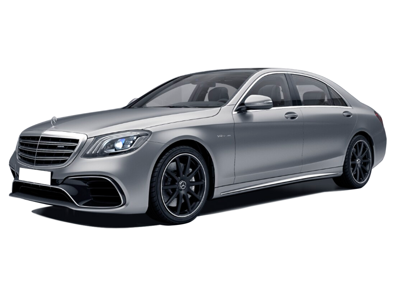 MERCEDES-BENZ - S 63 AMG - 4.0 V8 TURBO GASOLINA L 4MATIC SPEEDSHIFT