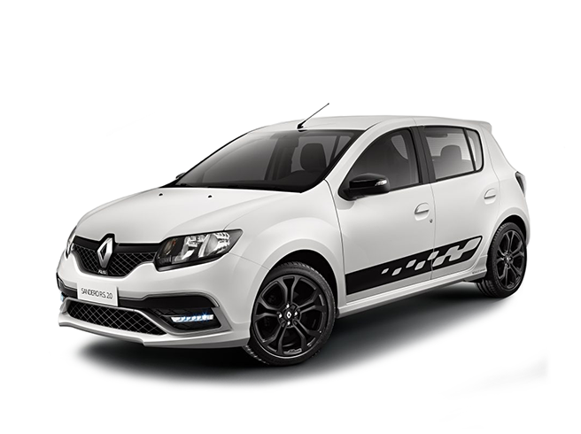 RENAULT - SANDERO - 2.0 16V HI-FLEX RS MANUAL